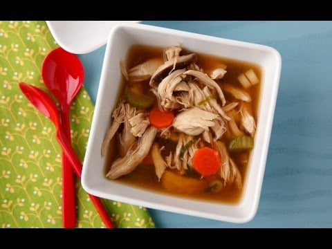 Asian Chicken Soup – Healthy Dinner Recipes – Weelicious