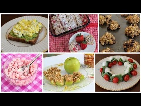 Healthy Snack & Dessert Ideas!