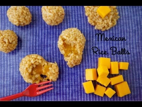 Mexican Rice Balls – Healthy Side Dish Recipes – Weelicious