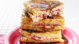 mqdefault86 Special Breakfast Recipes: How To Make Stuffed French Toast   Weelicious   food recipe image