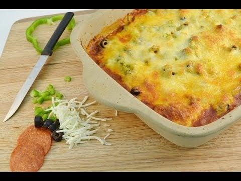 Pizza Casserole Recipe – Baked Pizza Pasta Dish | RadaCutlery.com