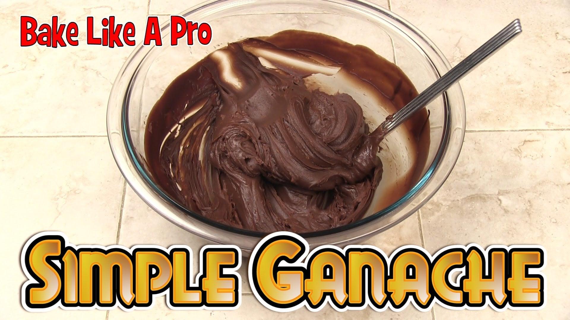 Simple Chocolate Ganache Recipe ! –  Chocolate & Cream Frosting / Filling