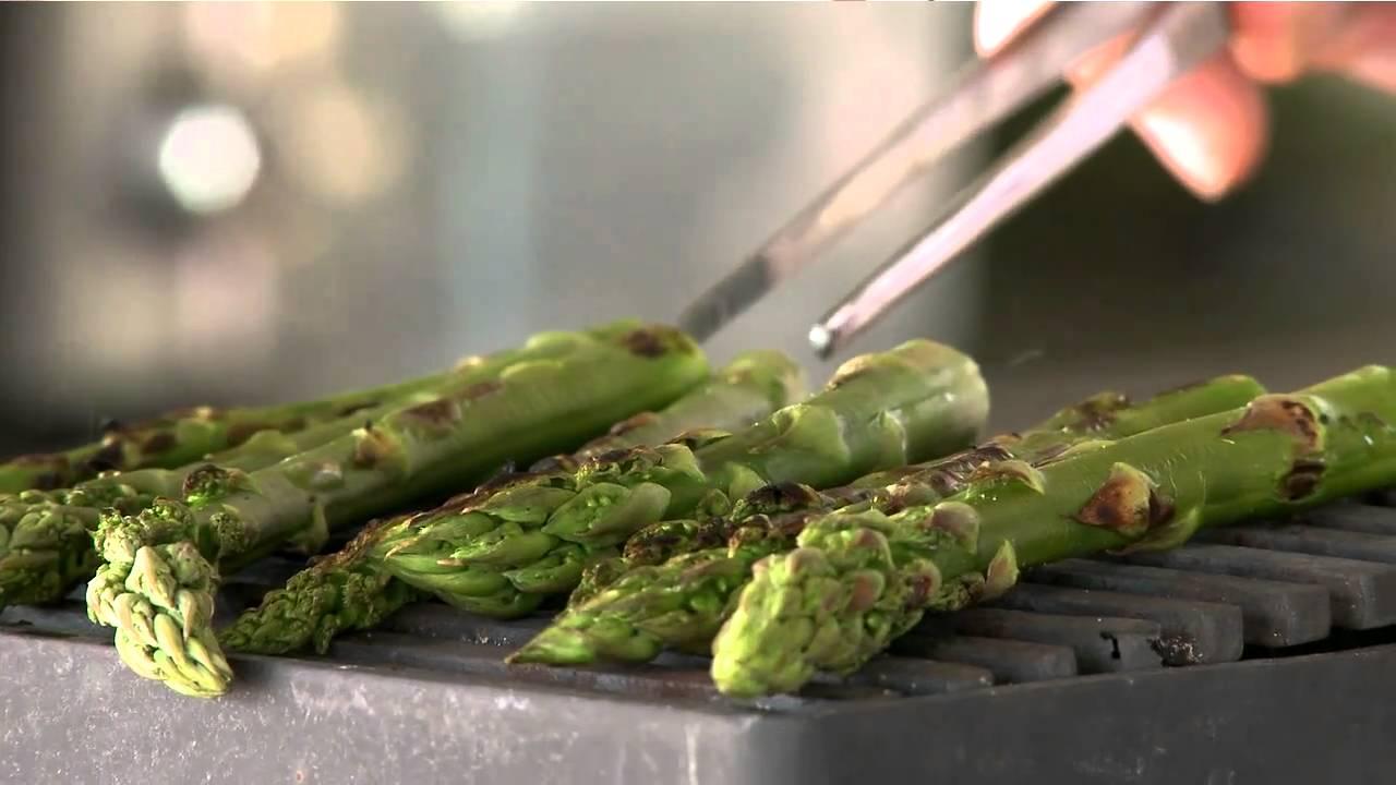 Asparagus and spruce: René Redzepi's signature dish