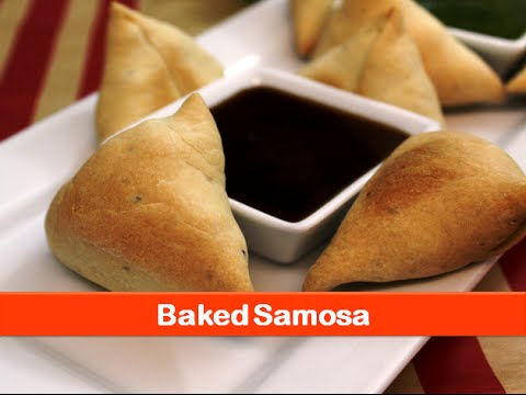 Baked samosa recipe/healthy samosa/tea time snacks for kid/Indian appetizer recipes-let's be foodie
