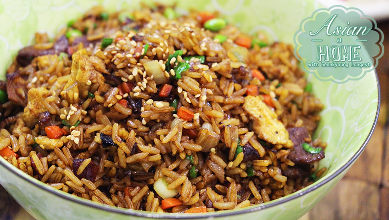 Chinese Fried Rice Recipe : Asian at Home Easy Fried Rice