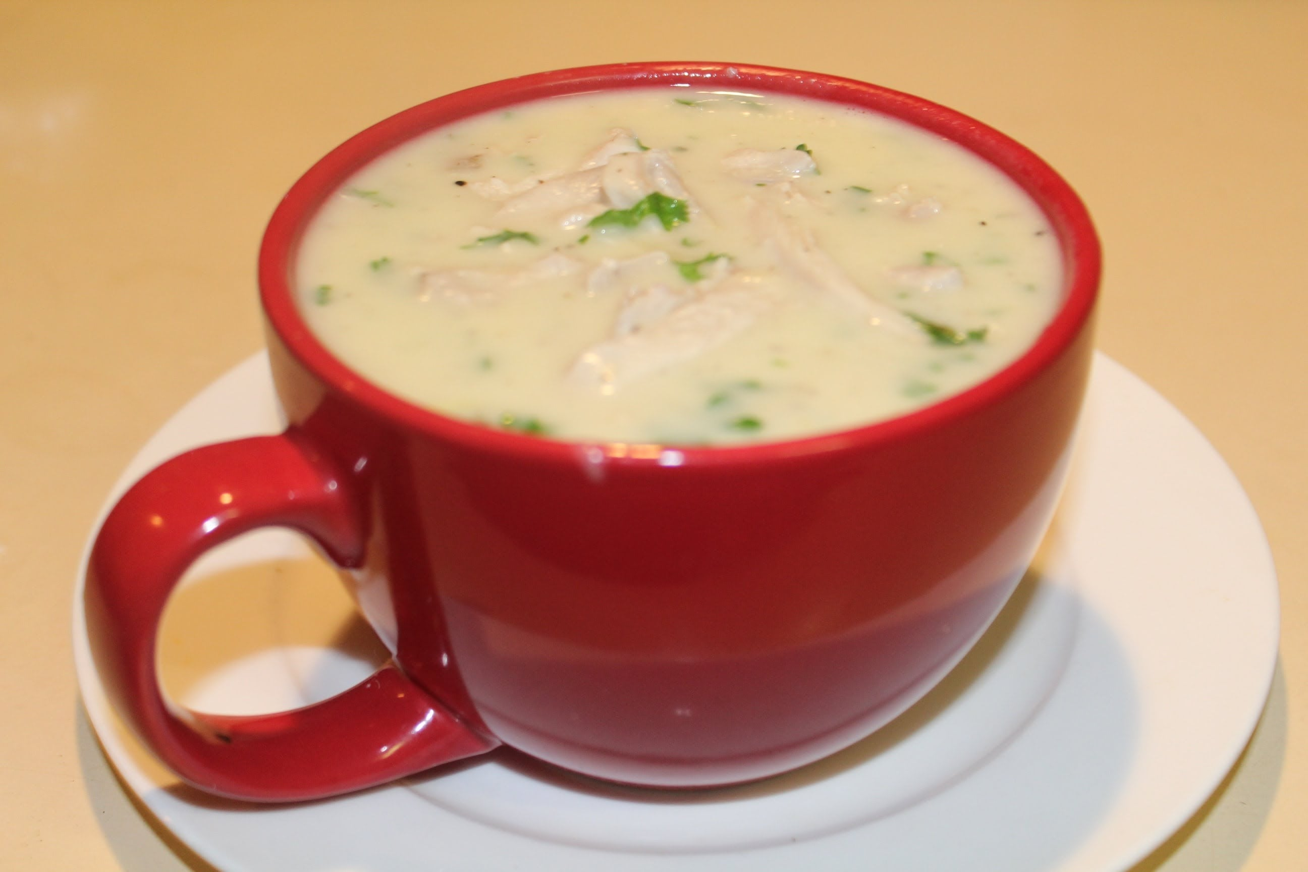 Cream of Chicken Soup from scratch