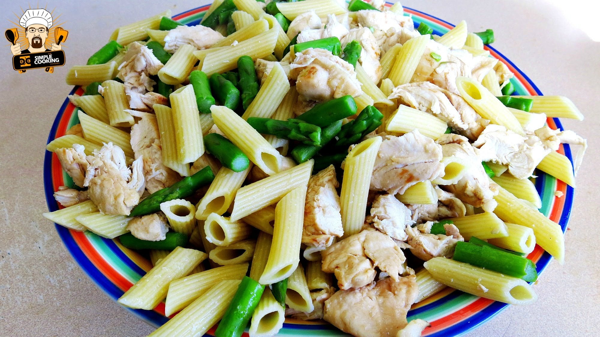 EASY CHICKEN PENNE PASTA RECIPE