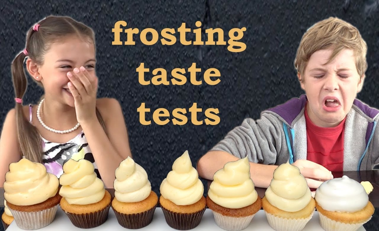 Frosting Recipes Taste and Heat tested HOW TO COOK THAT Ann Reardon Kids React