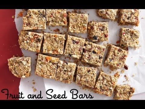 Fruit and Seed Bars: Healthy Snack Recipes – Weelicious