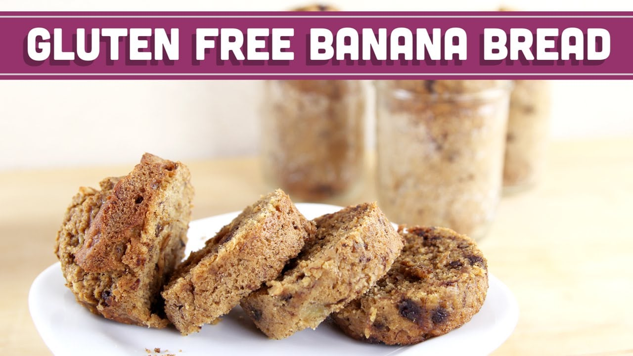 Healthy Banana Bread In A Jar! – Gluten Free Valentines Day Edible Gifts – Mind Over Munch