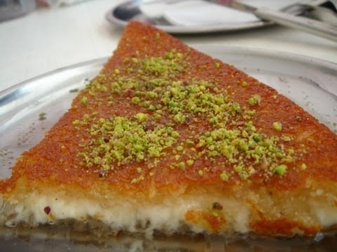 kenaffah  Knafa-  Recipy  that is too Sweet – Halal Cooking  كنافة