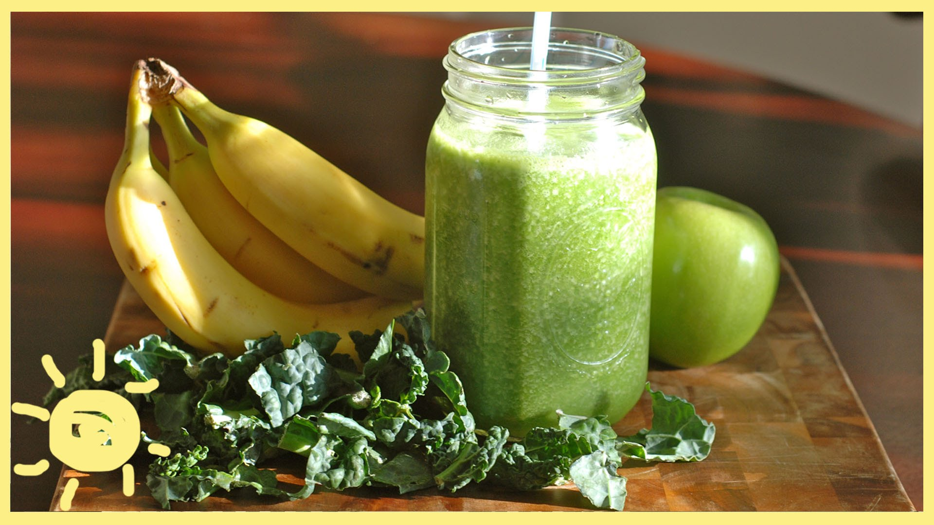 MEG | Banana Kale Smoothie Recipe