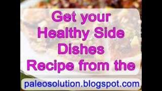 mqdefault177 Healthy Side Dishes   Paleo Recipe Book   food recipe image