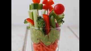 mqdefault241 Veggie Garden Cups   Healthy Snacks for Kids   Weelicious   food recipe image