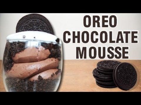 oreo chocolate mousse quick dess recipe home   food recipe image