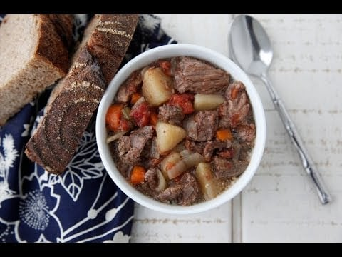 Slow Cooker Beef Stew – Easy Weeknight Dinners – Weelicious