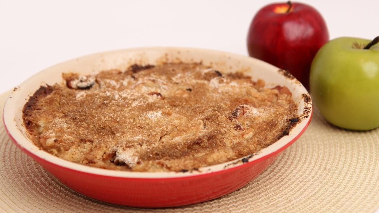 Apple Cranberry Crumble Recipe – Laura Vitale – Laura in the Kitchen Episode 686