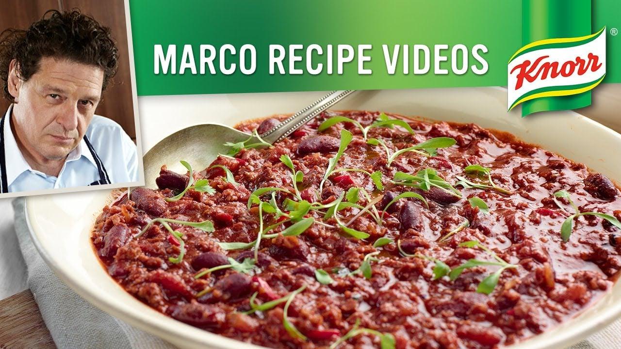 Chilli Con Carne Recipe | Marco Pierre White