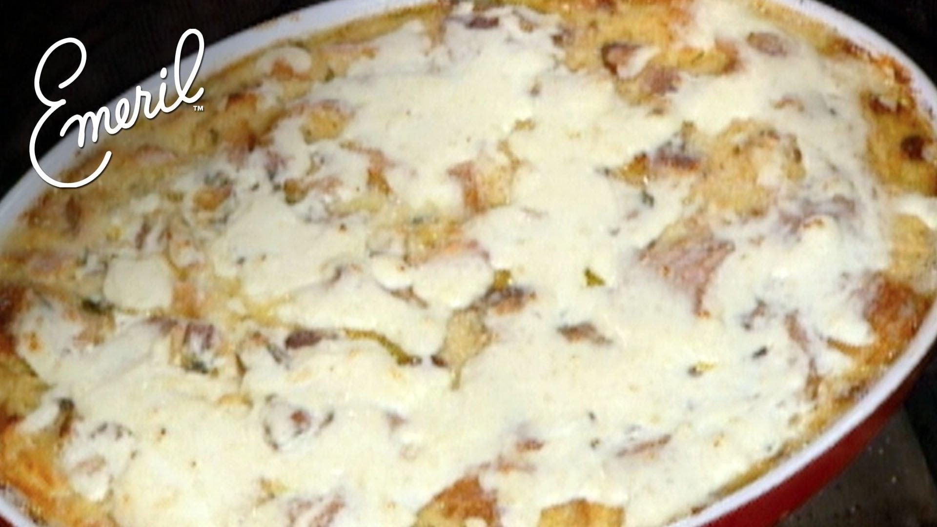 Creole Breakfast Bread Pudding – Emeril Lagasse