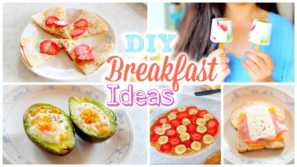 Fashionistalove22 Diy DIY Easy and Quick Breakfast