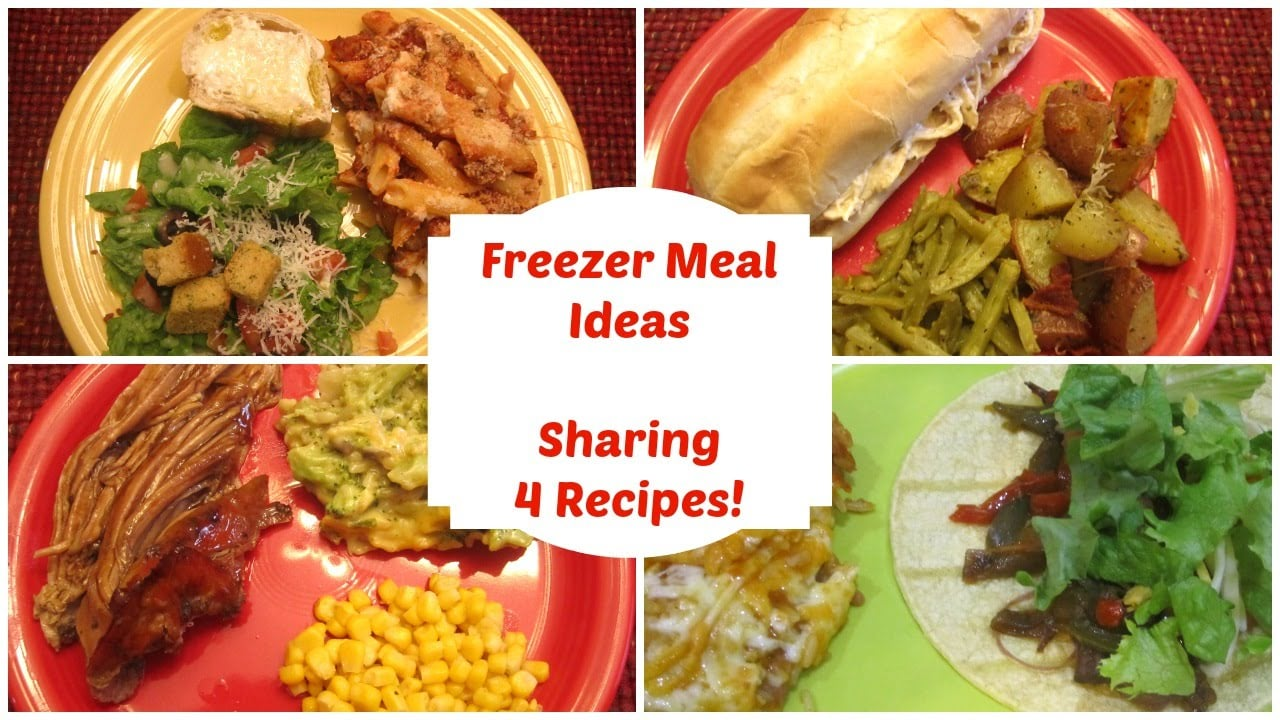 Freezer Meal Ideas – Sharing 4 Recipes Plus My Tips on Freezing Meals