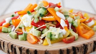 mqdefault100 All Veggie Nachos   Healthy Snack Recipes   Weelicious   food recipe image