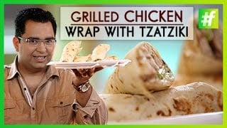 mqdefault60 Grilled Chicken Wrap with Tzatziki | Easy Picnic Recipes | By Chef Ajay Chopra   food recipe image