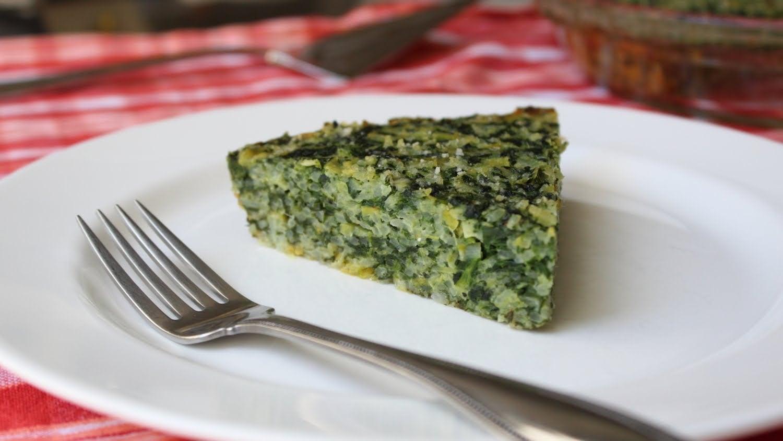 Spinach & Leek Torta di Riso — Savory Italian Rice and Vegetable Pie