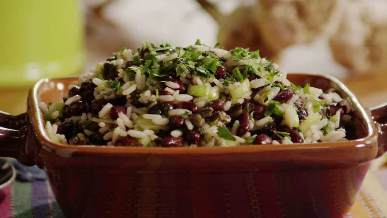 Vegetarian Recipes – Spicy Black Bean and Rice Salad