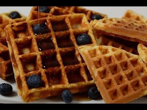 Waffles Recipe Demonstration – Joyofbaking.com