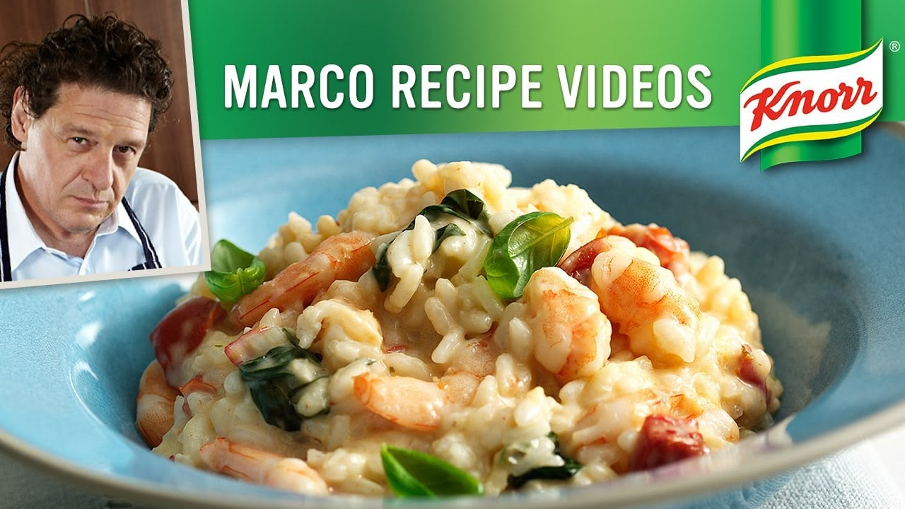 Prawn Seafood Risotto with Basil   Marco Pierre White ...