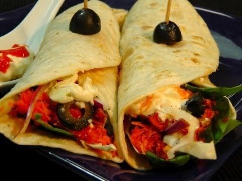 Tortilla Wrap – Healthy Recipe