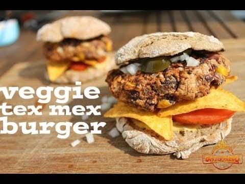 Veggie Tex Mex-Burger – english Grill- and BBQ-Recipe – 0815BBQ