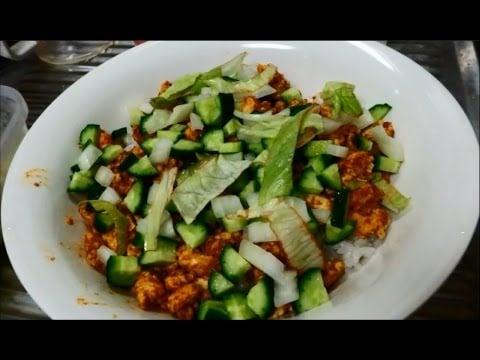Easy Bodybuilding Meal: Tandoori Ground Chicken