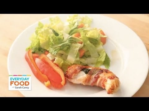 Bacon-Wrapped Chicken Tenders | Everyday Food with Sarah Carey