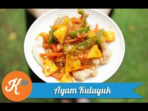 Resep Ayam Kuluyuk (Chinese Sweet & Sour Chicken Recipe Video)