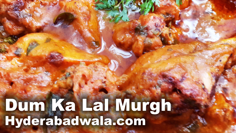 Dum Ka Lal Murgh Recipe Video in Urdu – Hindi – Easy, Simple & Fast Hyderabadi Cooking