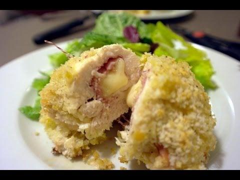 Healthier (and French!) Chicken Cordon Bleu Recipe