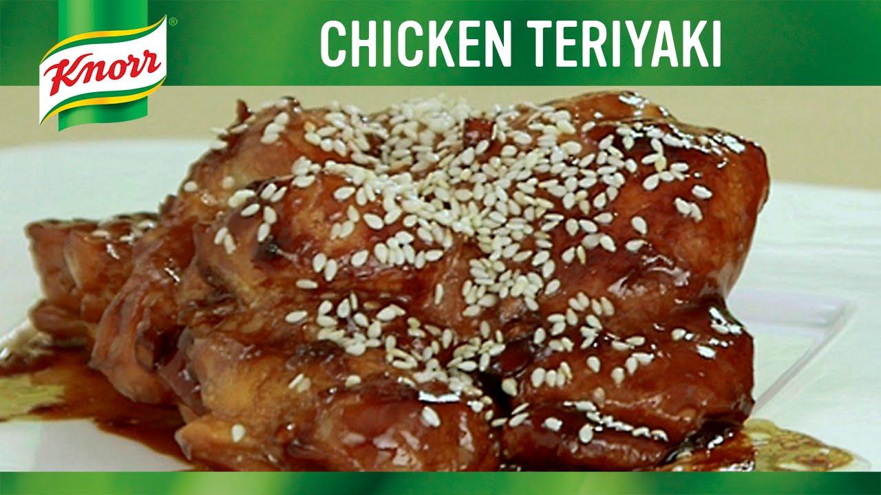 #LutongNanay: Chicken Teriyaki