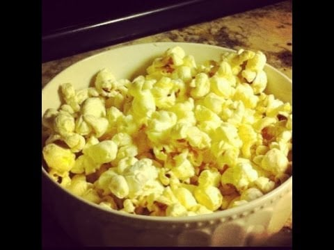 Mariah's Cooking- Simple Buttery popcorn recipe