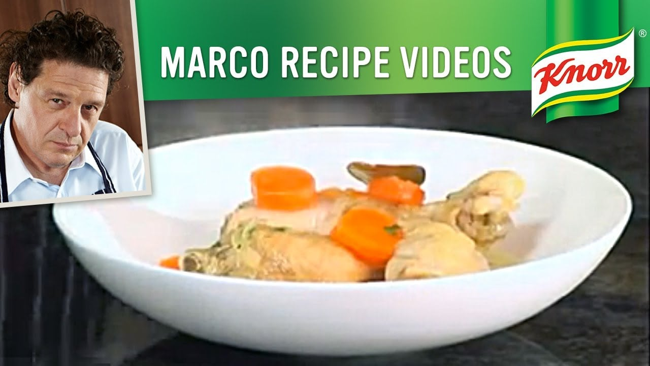 Chicken Broth Recipe | Marco Pierre White