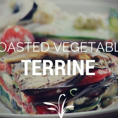 How to make a Roasted Vegetable Terrine (Crustless Layered Veggie Pie) ~ Cooking with Mira