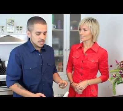 Philip McCluskey Shows Organic Avenue How To Make Raw Vegan Olive Tapenade Appetizer
