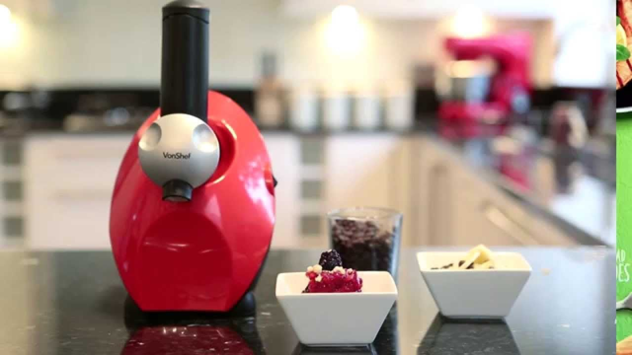 VonShef Frozen Fruit Dessert Maker