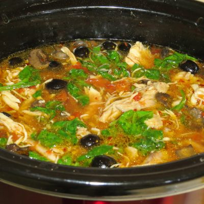 Crock-Pot Slow Cooker Chicken Soup or Cacciatore Recipe