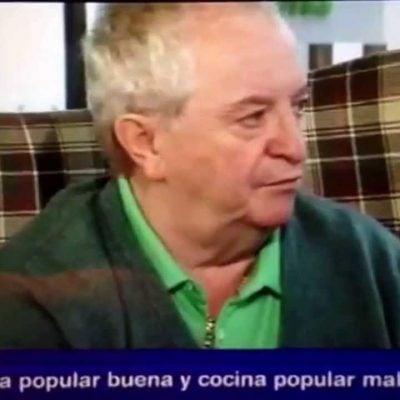 Juan Mari Arzak alabando la Caldeirada de pescados de Silvia Facal, cheff A Mundiña