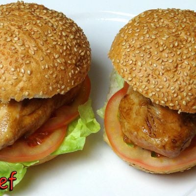 Teriyaki Chicken Burgers | One Pot Chef