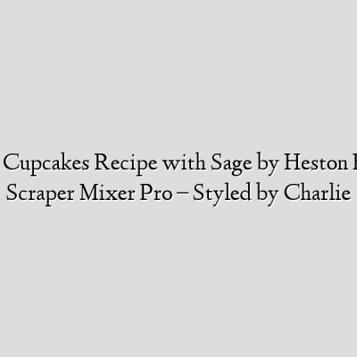 Eton Mess Cupcakes Recipe with Sage by Heston Blumenthal Scraper Mixer Pro – Styled by Charlie