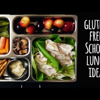 Back to school lunch recipes: Gluten-free lunch ideas