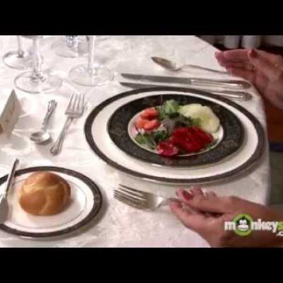 Basic Dining Etiquette – The Salad Course
